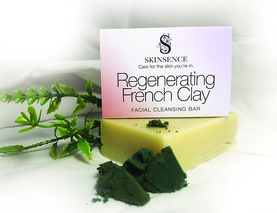 Regenerating French Clay Facial Cleansing Bar