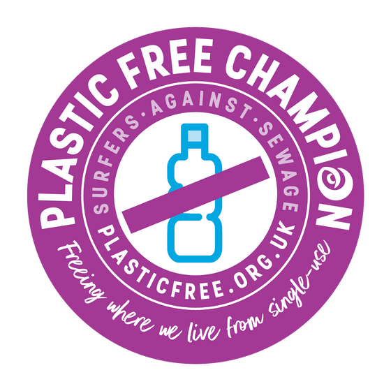 Officially a Plastic-free Champion