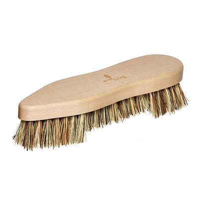Large wooden scrubbing brush
