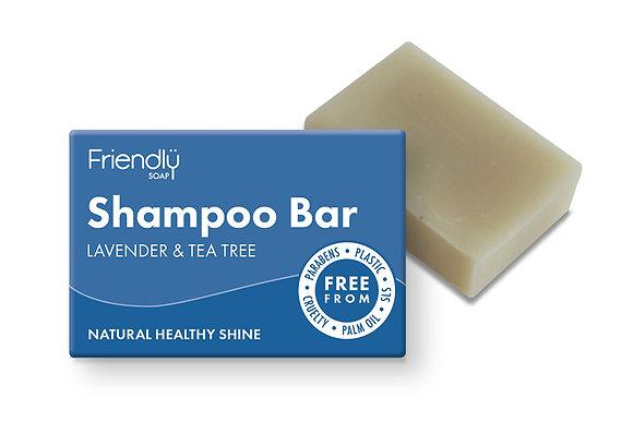 Friendly Soap Shampoo Bar - Lavender and Tea Tree