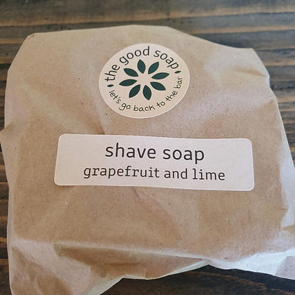 Grapefruit and Lime shaving soap