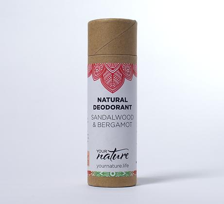 Your Nature Deodorant - Sandalwood and Bergamot