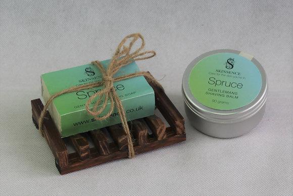 Spruce Shave Set