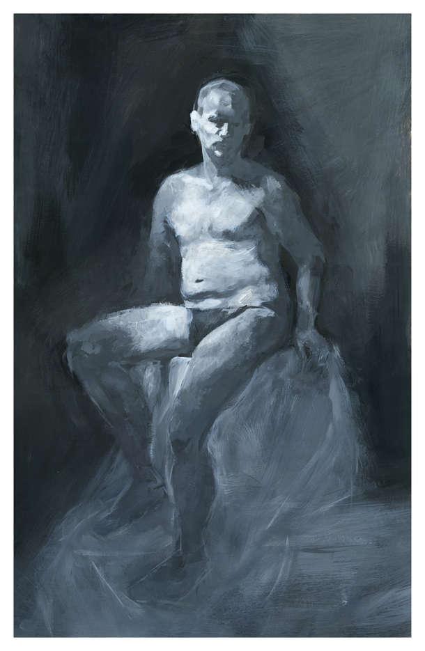 Figure Study - Acrylic