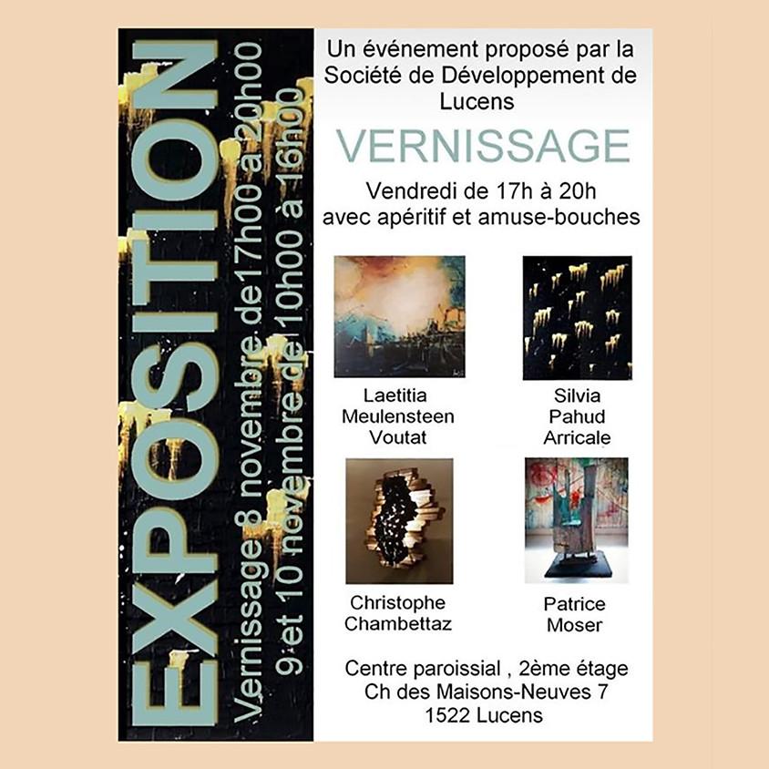 Exposition à Lucens du 8 au 10 novembre 2019
