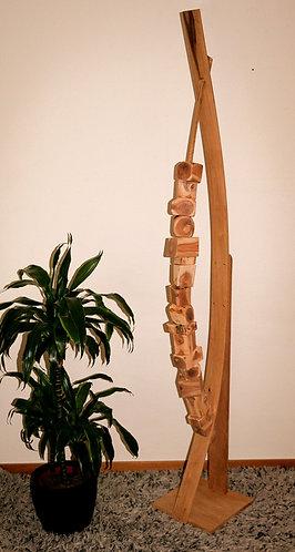 Création en Chêne et segments de pommier