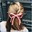 Thumbnail: Laura - Barrette Ottoman noeud à double pans