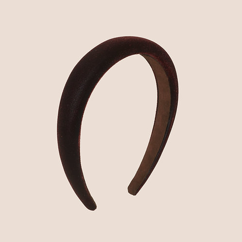 Serre-tête Velours - 2,5cm