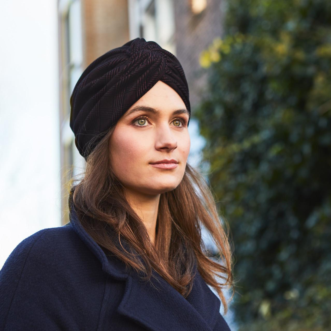 Turban en laine