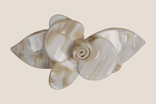 Barrette Fleur - Monture 9cm