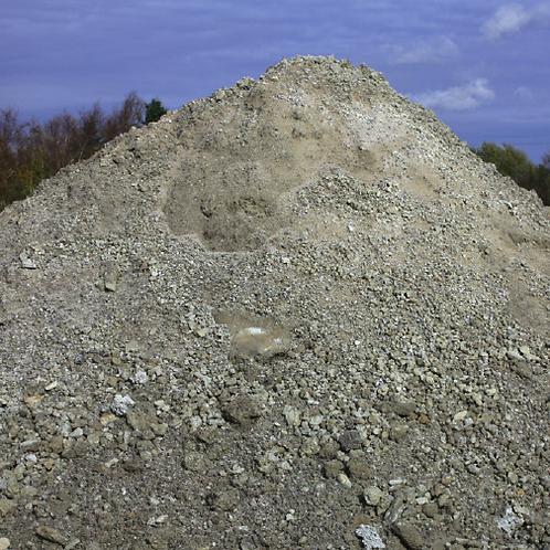 Betonggrus 0-200 mm, 15 ton