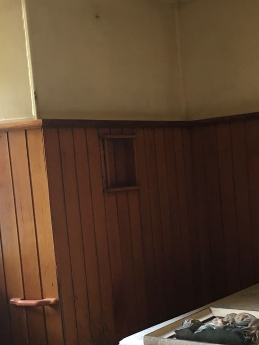 peinture sur bois avant