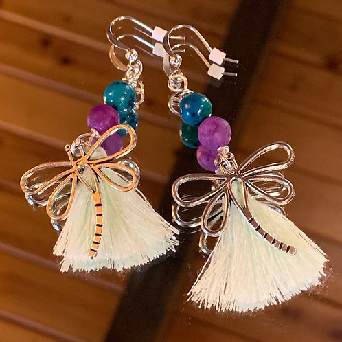 Soul Animal - Dragonfly earrings-3