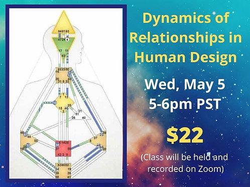 Dynamics of Relationships in Human Design