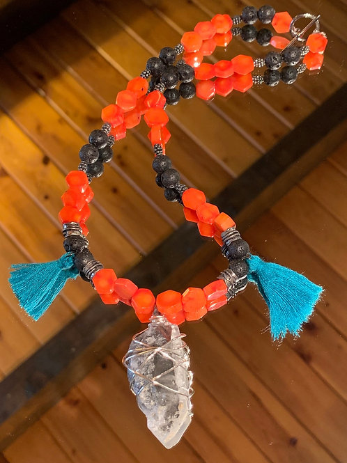 Strength & Support Bali Boho Necklace