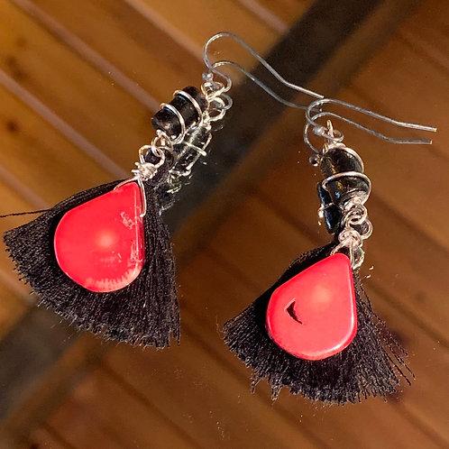 Strength & Support Bali Boho Earrings
