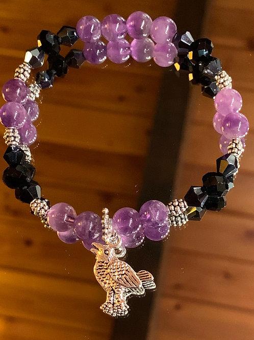 Soul Animal - Crow bracelet