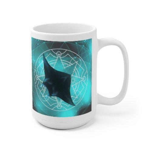 Mystic Manta Sacred Geometry Mug
