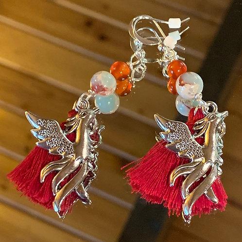 Soul Animal - Phoenix earrings-3