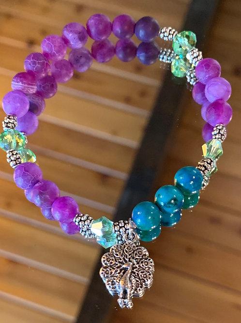 Soul Animal - Peacock bracelet-5