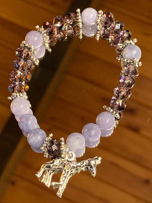 Tanzanite Crystal bracelet - 4