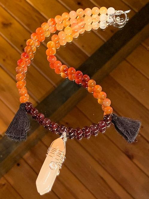 Rising Phoenix Bali Boho Necklace