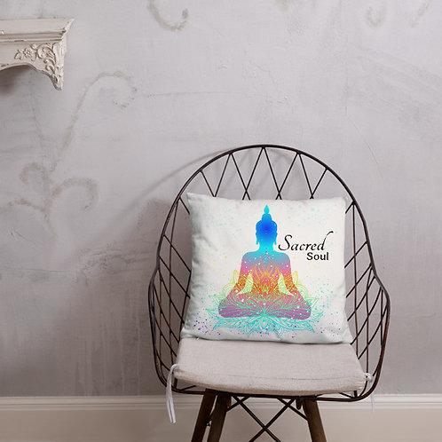 Sacred Soul Throw Pillow