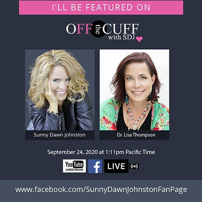 Dr. Lisa Thompson-I'll Be A Guest on Off