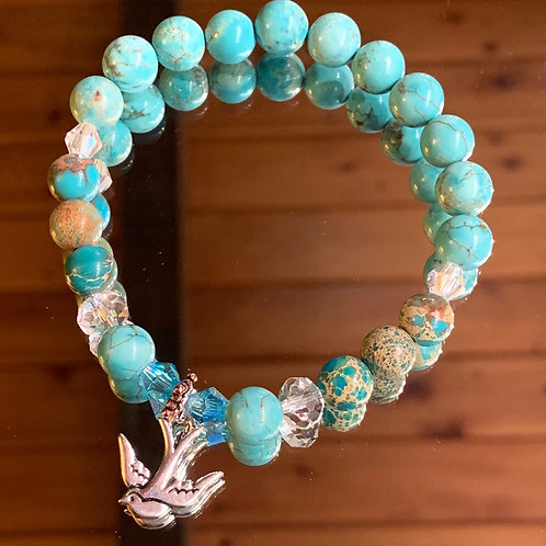 Soul Animal - Swallow bracelet