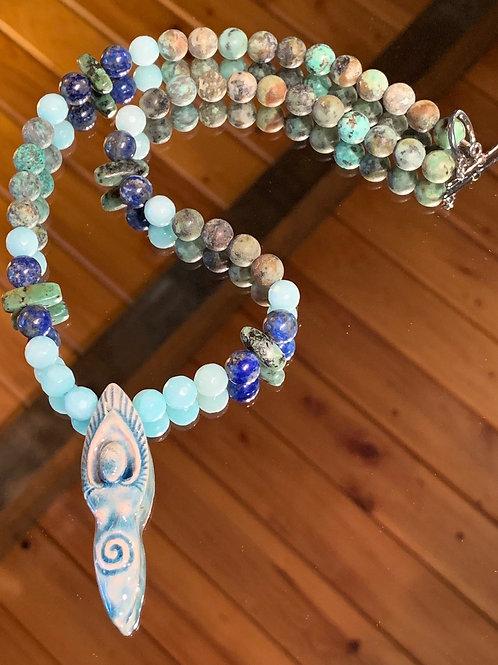 Intuitive Wisdom Goddess Necklace