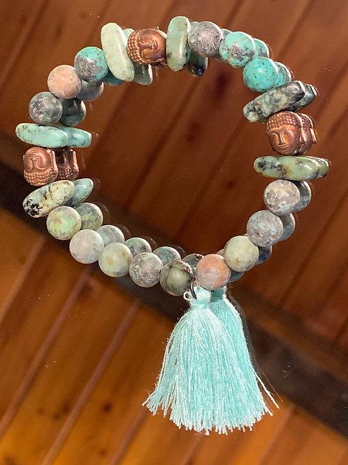 Intuitive Wisdom Goddess Bracelet