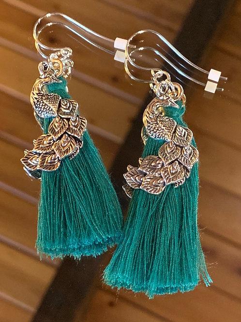 Soul Animal - Peacock earrings-4