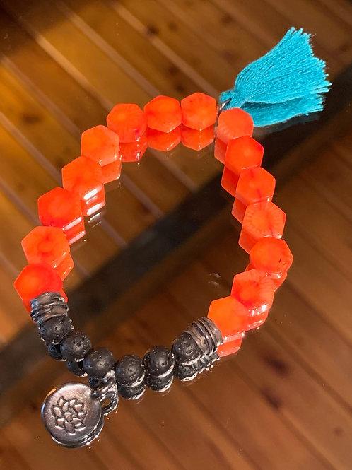 Strength & Support Bali Boho Bracelet
