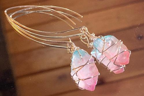 Aura Quartz Earrings -1