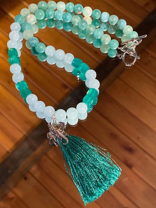 Good Luck Bali Boho Necklace