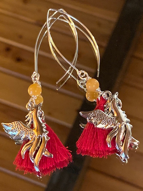 Soul Animal - Phoenix earrings-2