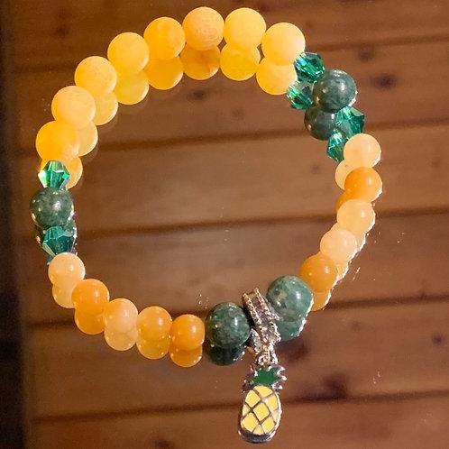 Pineapple bracelet-2