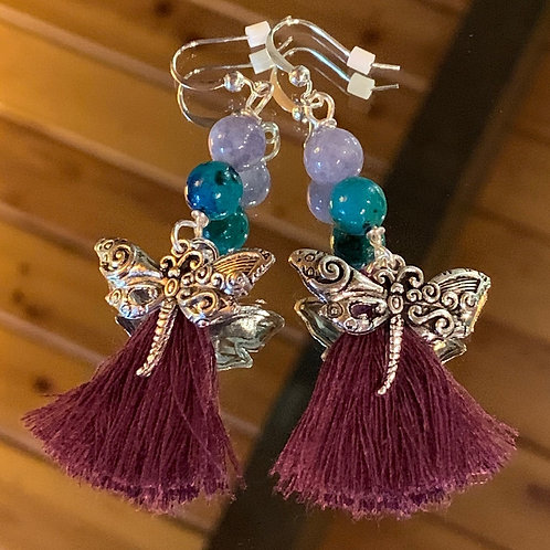 Soul Animal - Dragonfly earrings-1