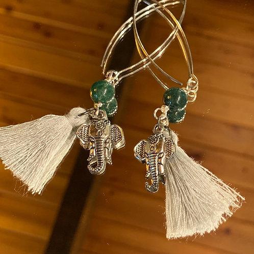 Ganesh God Earrings