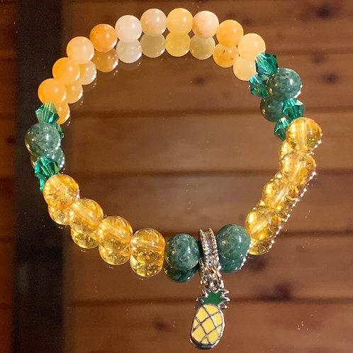 Pineapple bracelet-1