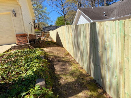 Recently Completed Jobs by Fence Masters of Arkansas