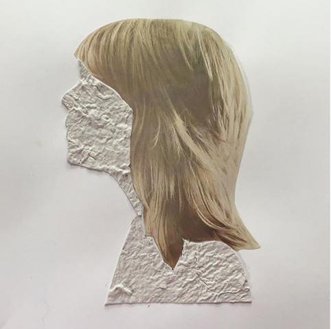 Vitality Handmade Paper collage