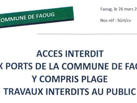Info de la commune de Faoug