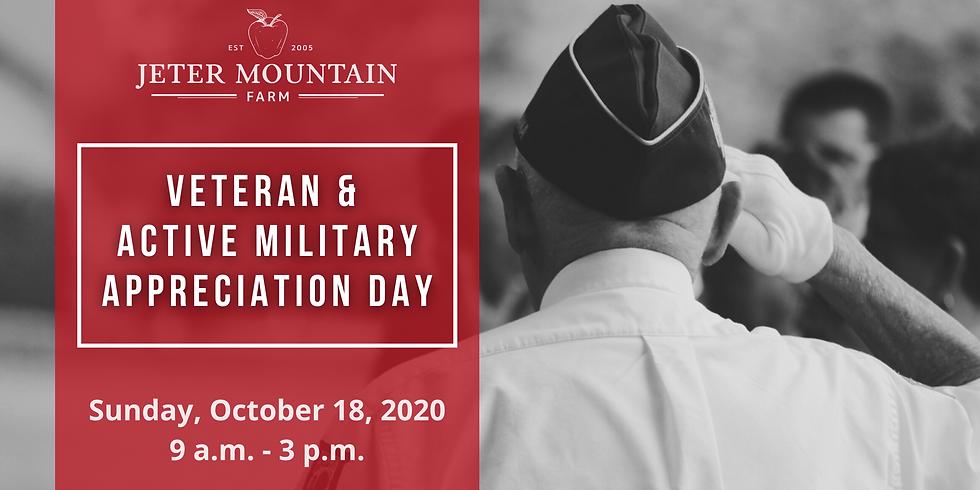 Veteran & Active Military Appreciation Day