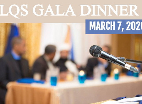 Gala Dinner on March 7