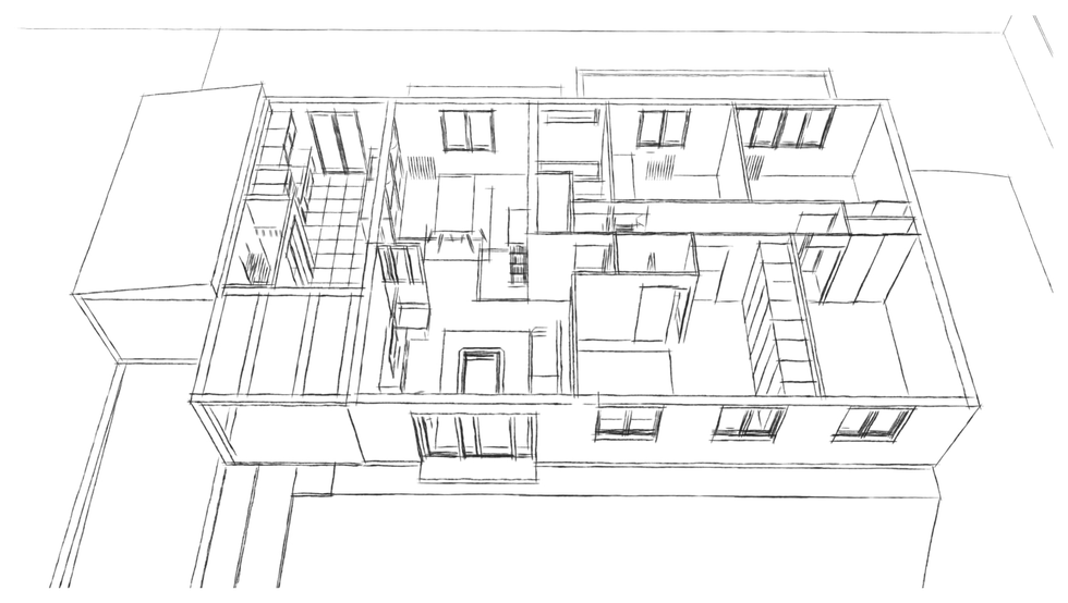 plan d'une extension