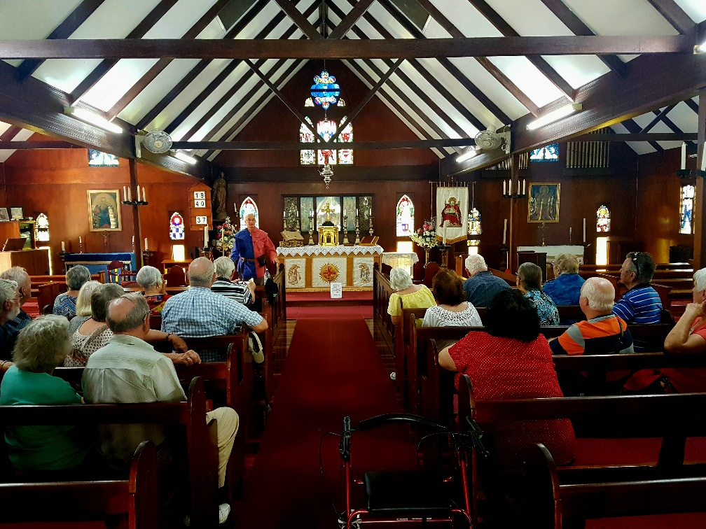 National-Seniors-Redcliffe-Inside the church.