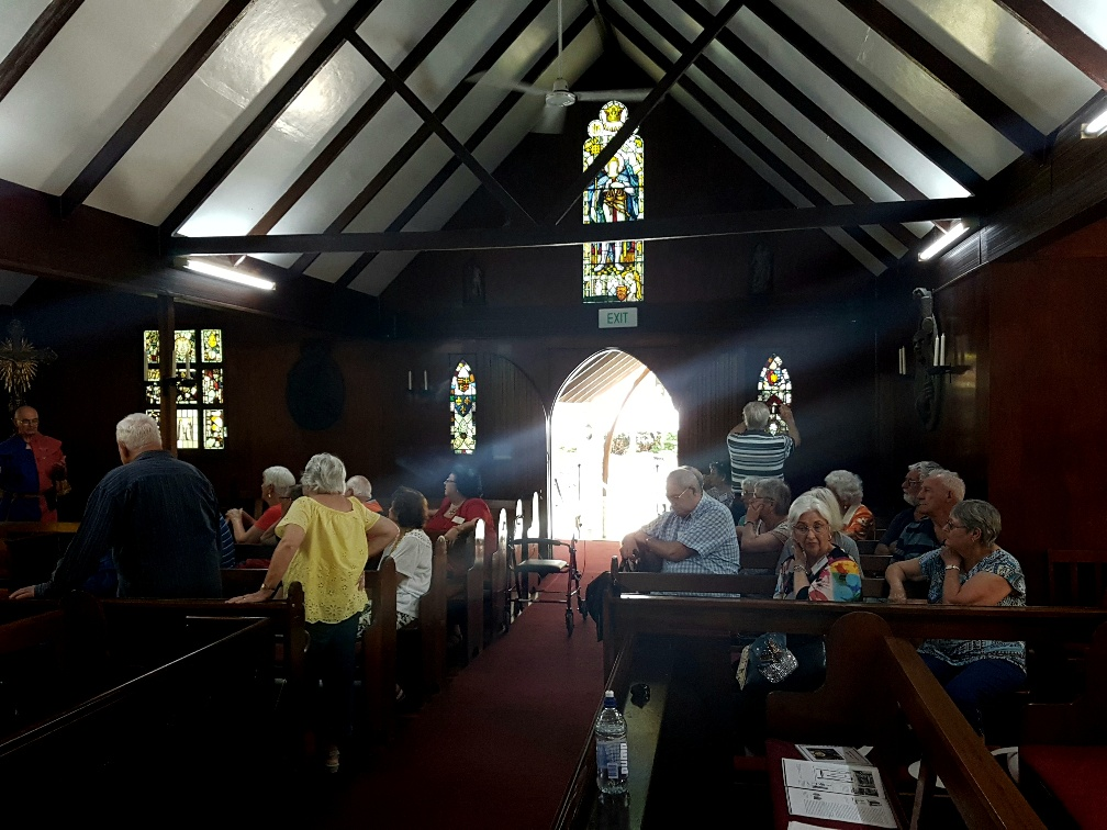 National-Seniors-Redcliffe-Some of the stain glass windows