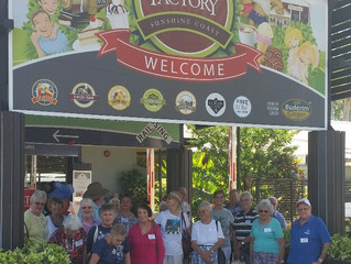 Bus trip to Ginger Factory and Yandina Historic house on Friday 17 February