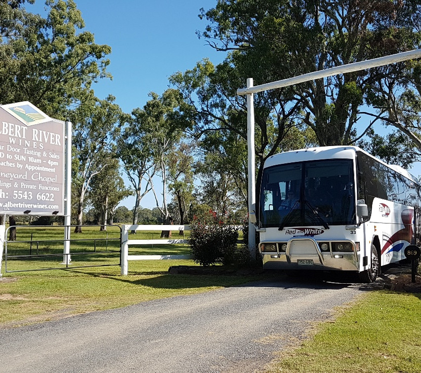 National-Seniors-Redcliffe-Entrance to Albert River Winery